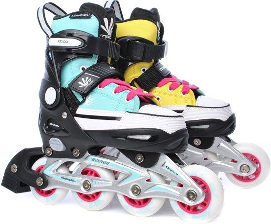 531a4c3f0ba Tempish Magic Rebel Inline Skates junior blauw/geel mt 40/43