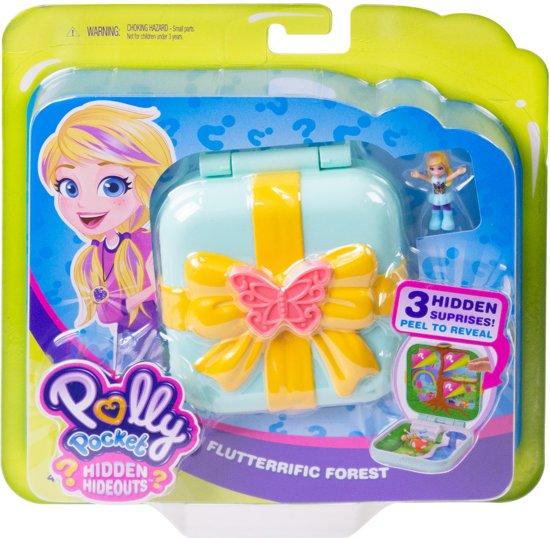 Polly Pocket Hidden Hideouts Polly's Betoverende Bos - Speelfigurenset
