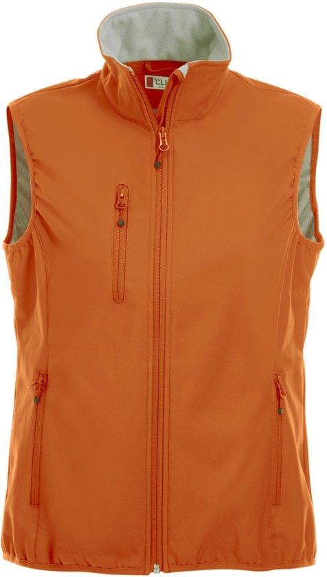 Craft Basic Softshell ds bodywarmer diep oranje s
