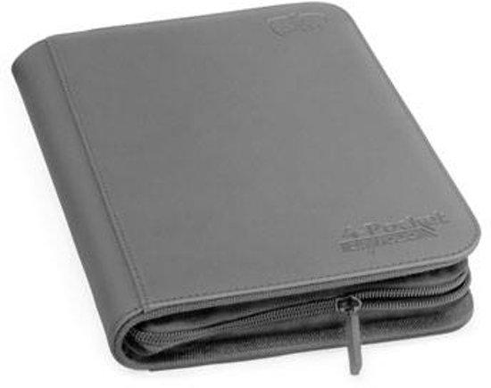 Afbeelding van het spel Ultimate Guard 4-Pocket ZipFolio XenoSkin Grey