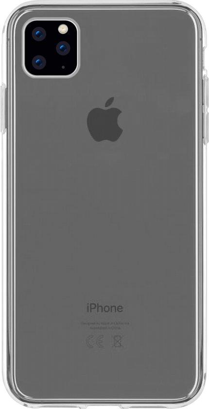 Azuri TPU hoesje - Transparant - Voor Apple iPhone 11, Apple iPhone XR