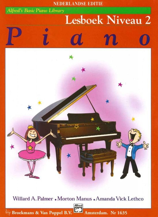 Alfred's Basic Piano Library | Lesboek Niveau 2