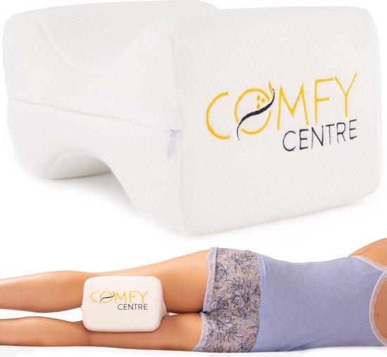 COMFY® Kniekussen voor in bed - Beenkussen Orthopedisch - Ergonomisch Kniekussen - Zijslaap Kussen - Zwangerschapskussen - Knie Kussen Tussen Benen - Traagschuim - Beter slapen