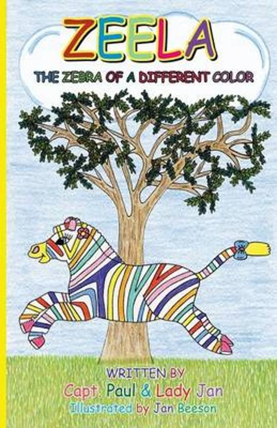 Zeela The Zebra Of A Different Color
