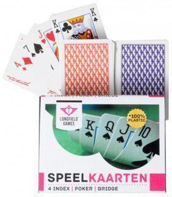 Afbeelding van het spel Longfield games Speelkaarten set