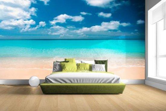 Fotobehang Strand Zee.Bol Com Tropische Zee En Strand Fotobehang 380x265