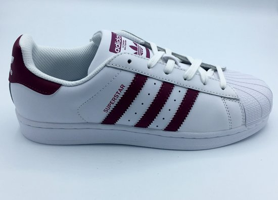 rood 39 3 Adidas Wit Superstar Maat Unisex Foundation Sneakers 1 wwM4HrXfq