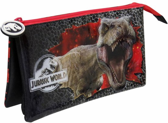Jurassic World - Etui - 3D - 22 x 12 x 6,5 cm - Multi