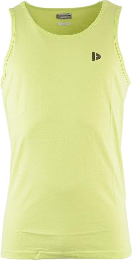 Donnay Muscle shirt - Tanktop - Sportshirt - Heren - Maat XXL - Groen