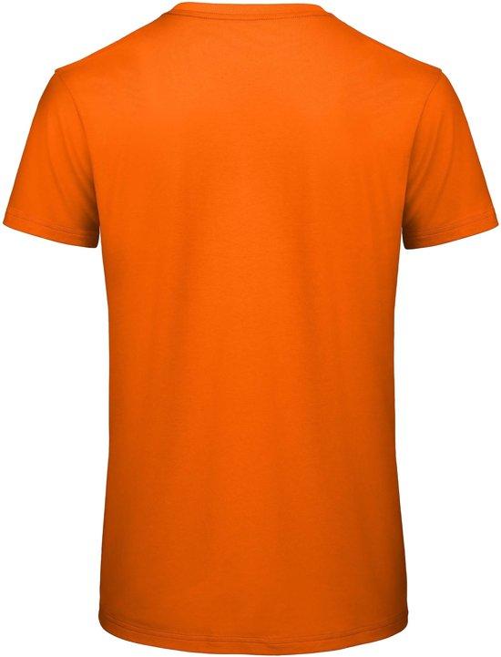Basic 5 Katoen T Shirt Kleur Oranje100Biologisch Senvi Pack Maat S cA35RjLq4