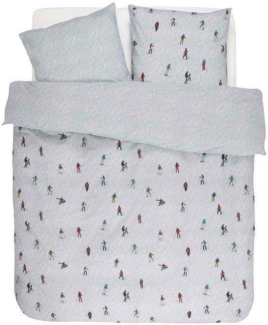 Covers & Co Ski - Dekbedovertrek - Lits-jumeaux - 240x200/220 cm + 2 kussenslopen 60x70 cm - Wit