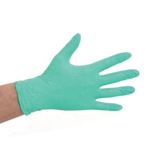 CMT soft nitril handschoenen poedervrij L groen