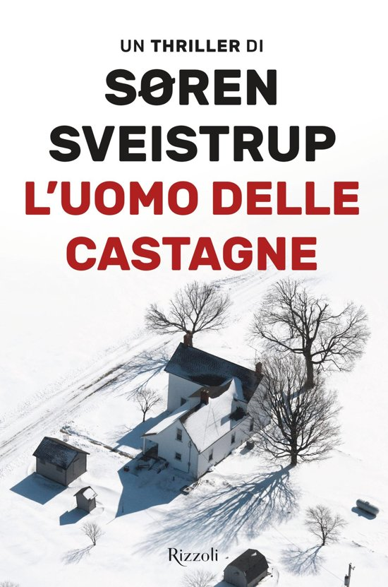 Boek cover Luomo delle castagne van Soren Sveistrup (Onbekend)
