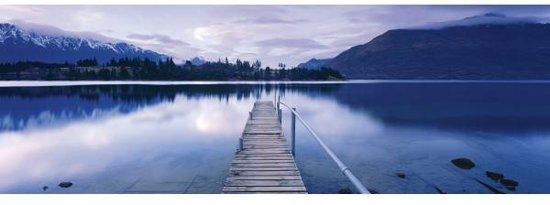 Schmidt Puzzel Lake Wakatipu - Panorama - 1000 Stukjes