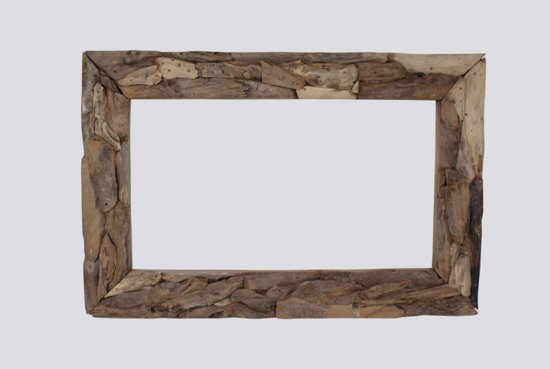 Fabulous bol.com | Teakea Root Spiegel | 120 x 80 3 cm NH61