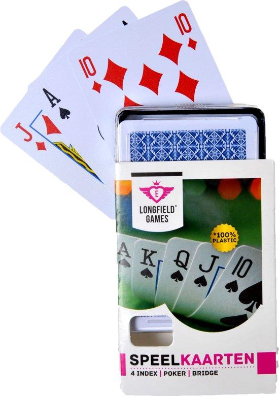 Afbeelding van Longfield Games Speelkaarten 100% Plastic speelgoed