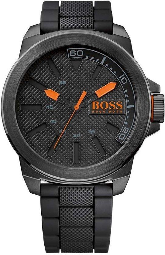 hugo boss orange ho1513004 horloge siliconen. Black Bedroom Furniture Sets. Home Design Ideas