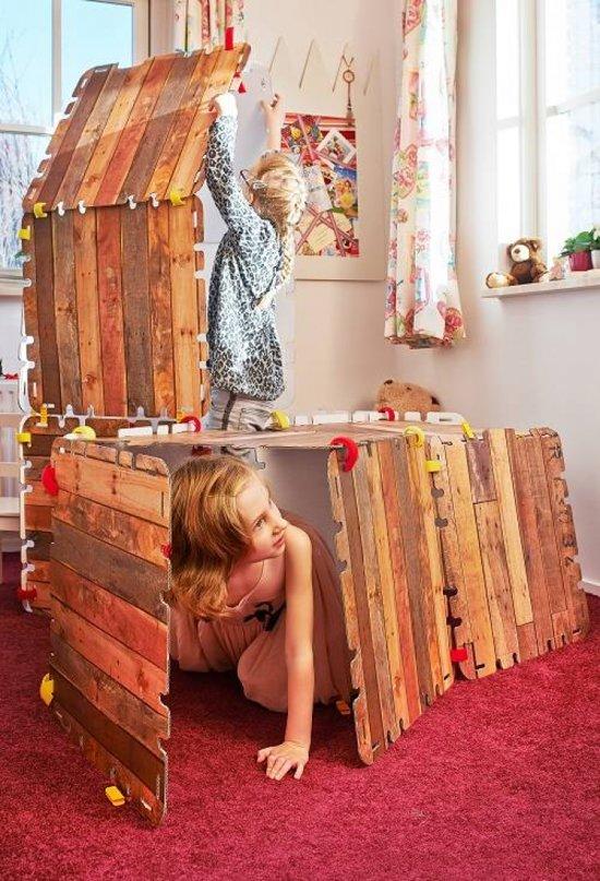 Favoriete bol.com   Fantasy Fort (34-dlg.) Huttenbouw-pakket, Fantasy Forts @LT49