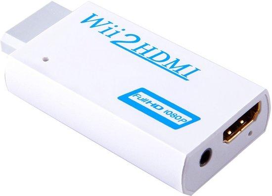 Wii naar HDMI 1080p omvormer - Wii spelen in hoge resolutie! kopen