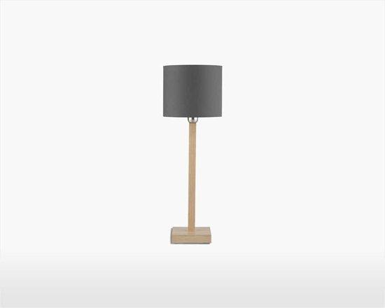 It's About Romi Tafellamp – KOBE – Eikenhout – 40cm - Product Kleur: Getint grijs