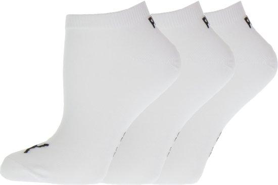 1301586637be7b bol.com | PUMA Sokken - SNEAKER PLAIN 3 paar - Unisex - Maat 43 white