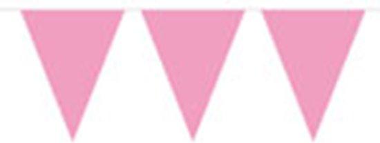 Vlaggenlijn Baby Roze 10M (1ST)