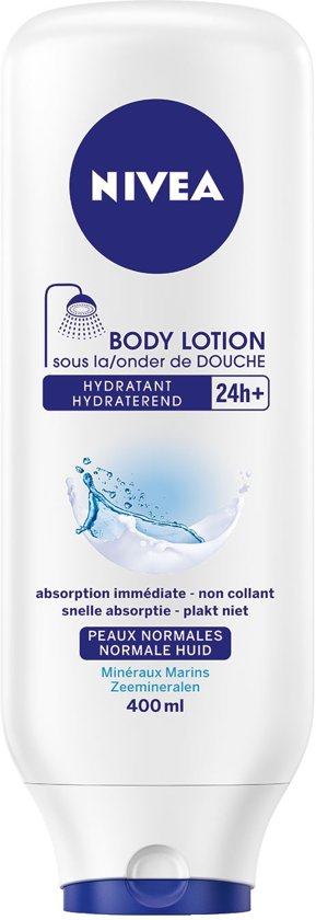 NIVEA Aloe Hydraterende Onder de Douche Body Lotion - 400 ml