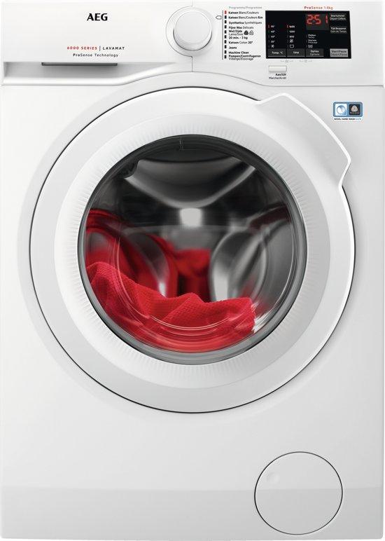 AEG L6FBI86W - Wasmachine