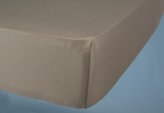 Cevilit - Hoeslaken Julia - Jersey stretch - ecru - 180x 200/220 cm