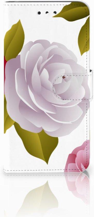 LG G7 Thinq Uniek Boekhoesje Roses