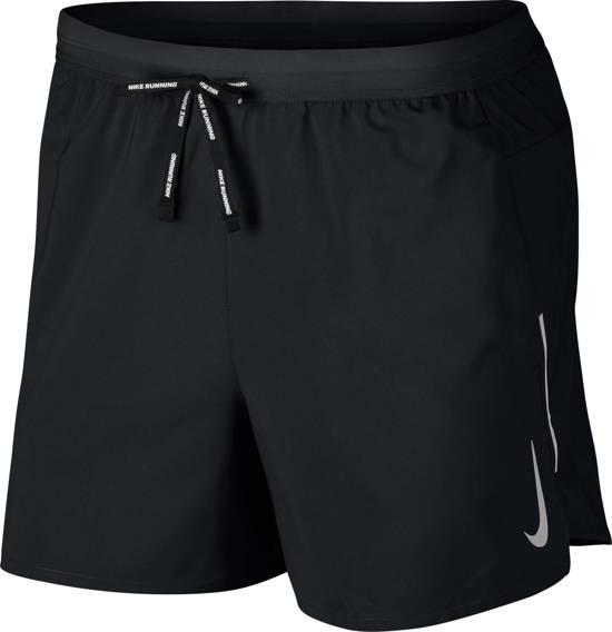 Nike Dri-Fit Flex Stride Heren Sportbroek - Black/Reflective Silv - Maat S
