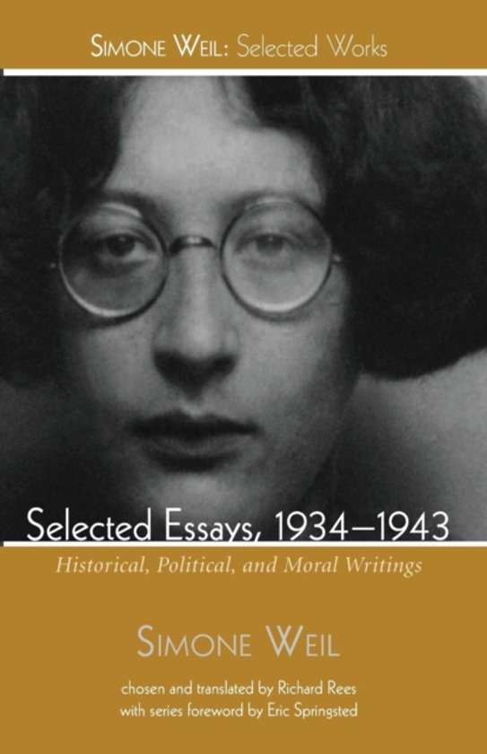 simone weil selected essays