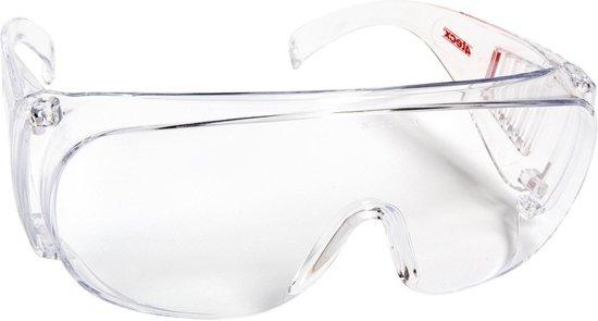 4Tecx Overzetbril Clear