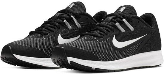 Nike Downshifter 9  Sportschoenen - Maat 37.5 - Unisex - zwart/wit