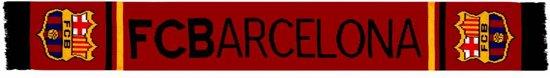 Sjaal barcelona rood logo