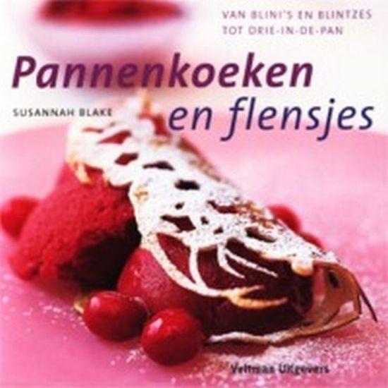 Boek cover Pannenkoeken En Flensjes van Susannah Blake (Hardcover)