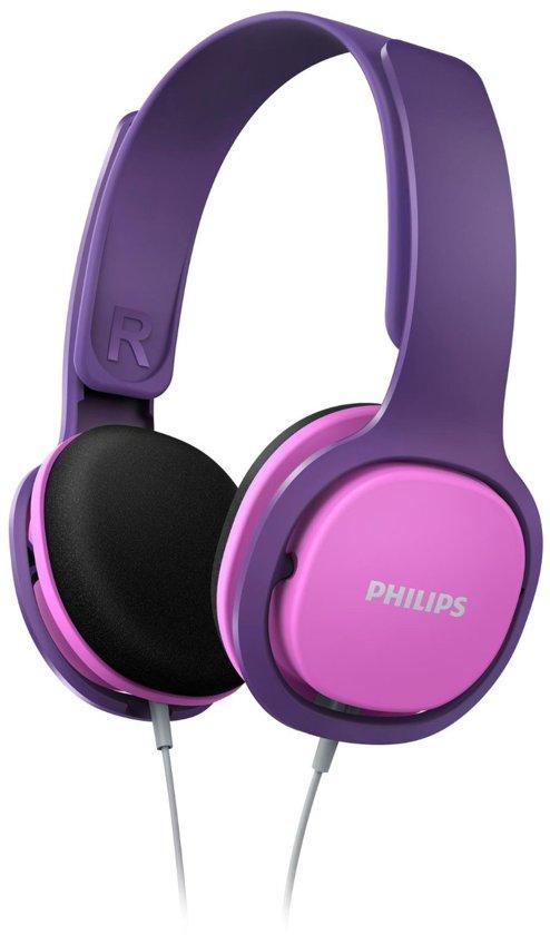 ed08e99204f bol.com   Philips SHK2000 - Kids koptelefoon - Roze / Paars