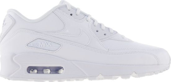 nike air max wit dames leer