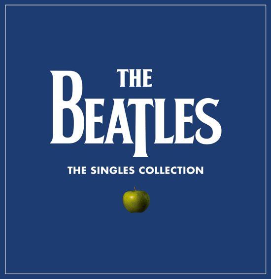 CD cover van The Singles Collection (7 inch LP) van The Beatles