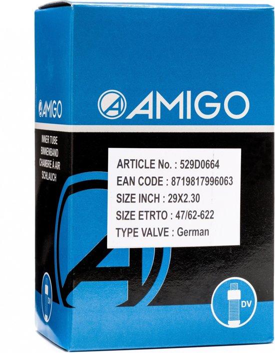 Amigo Binnenband 29 X 2.30 (47/62-622) Dv 45 Mm