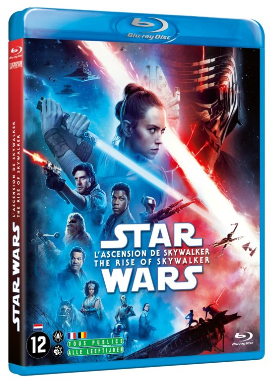 DVD cover van Star Wars Episode IX: The Rise of Skywalker (Blu-ray)