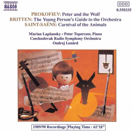 Prokofiev: Peter and the Wolf; Britten, Saint-Saens / Lenard