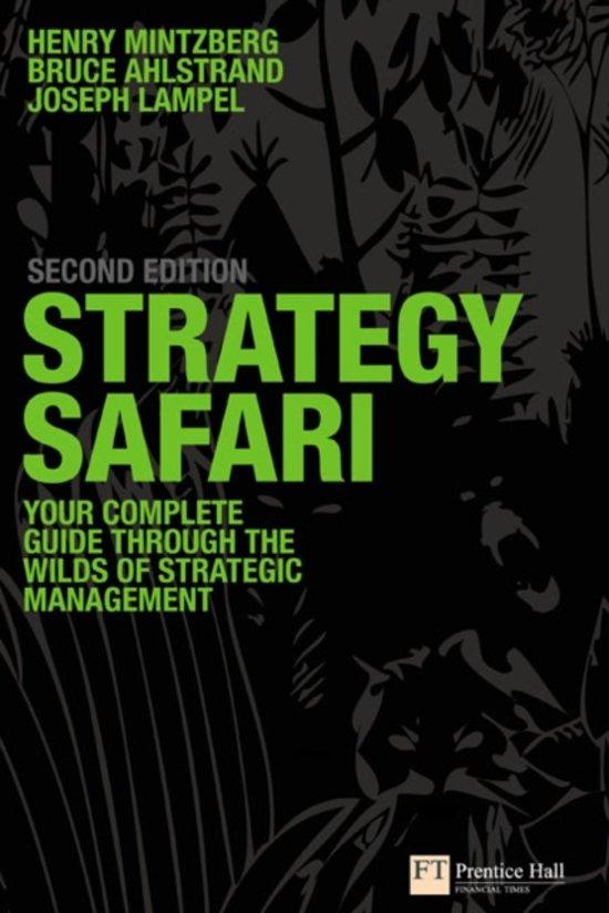 Mintzberg:Strategy Safari_p2