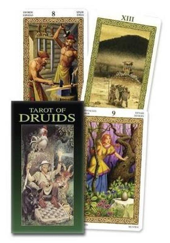 Afbeelding van het spel Tarot de los Druidas/Tarot of Druids
