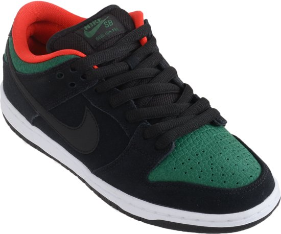 new style 620a7 c946a Nike Dunk Low Pro SB Sneakers - Maat 44 - Heren - zwartgroen