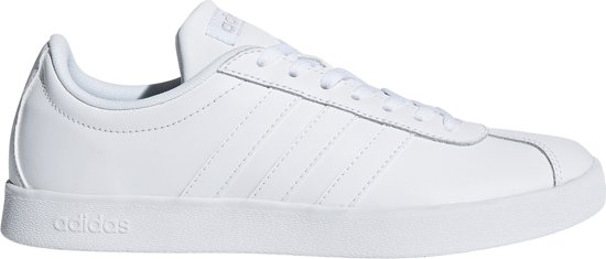 Adidas - Court Vl 2.0 - Sport Faible Sneakers - Hommes - Taille 42 - Blanc - Blanc Ftwr MfcSnu