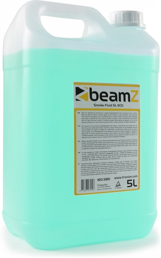 Rookvloeistof - BeamZ universele rookvloeistof ECO - 5 liter groen