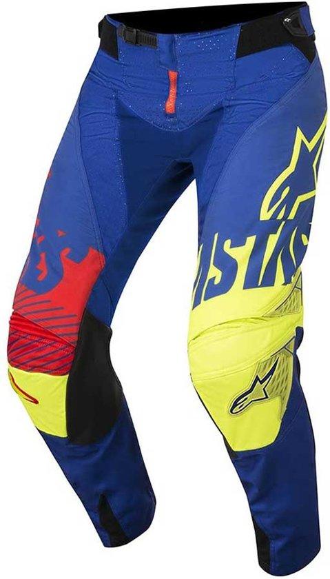 Alpinestars Techstar Blue Yellow 40 fluor Screamer red Crossbroek 35AL4jqR