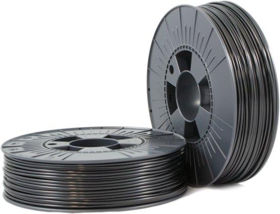 ABS-X 2,85mm black ca. RAL 9017 0,75kg - 3D Filament Supplies