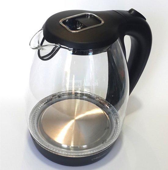 Maestro MR-061 - Elektrische waterkoker 1.7 ltr - zwart